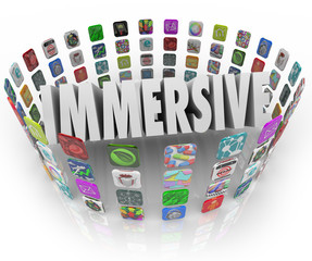 Immersive Word App Software Program Application Icons