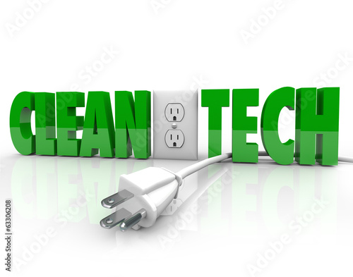 Clean Tech Power Plug Electrical Outlet Unplug Energy Source