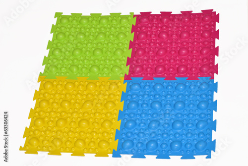 Orthopedic mat for children