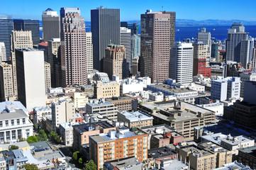 San Francisco City Skyline, California, USA