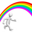 Rainbow Run Away
