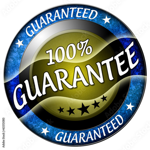 100 guarantee icon