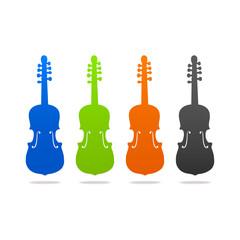 violin contour