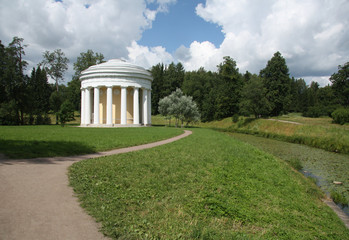 Temple of Friendship in the Pavlovsk park