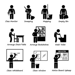 Classroom Student Duty Roster