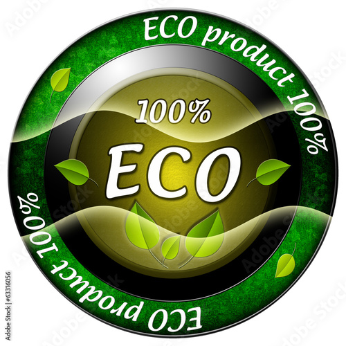 Eco product 100 icon