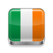 Metal  icon of Ireland