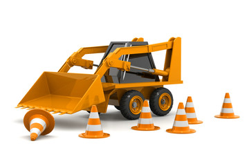 Excavator Under Construction