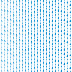 vector rain drops background pattern
