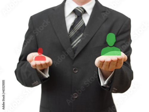 Choosing the right candidate for company
