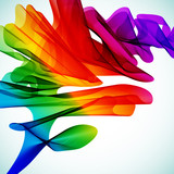 Fototapety Multicolor abstract bright background. Elements for design.