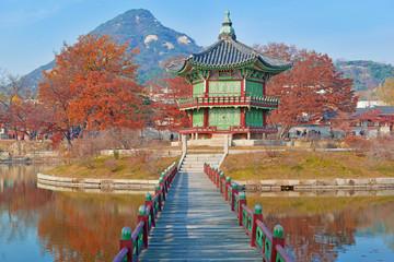 Gyeongbokgung Palace, Seul, Korea Południowa