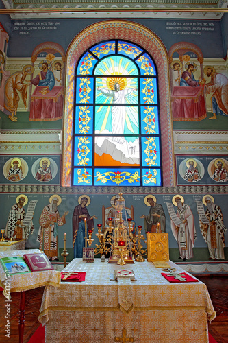 interior orthodox Temple of  Saints Cyril and Methodius