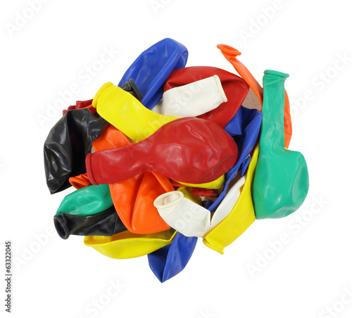 Variety Of Party Baloons