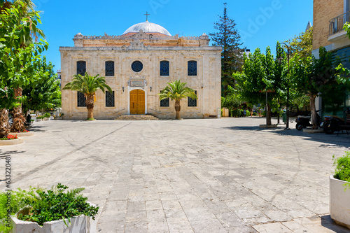 Saint Titos church. Heraklion, Crete