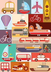Transport vector illustration