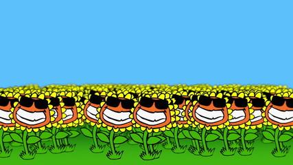 Sunflower Field (Cartoon)