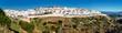 Leinwanddruck Bild - Panorama of Vejer de la Frontera. Costa de la Luz, Spain