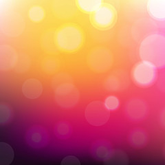 Colorful Wallpaper With Bokeh