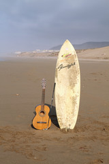 Beach Surfbrett