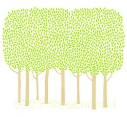 나무 배경