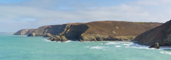 North Cornwall coast St Agnes England UK near Newquay