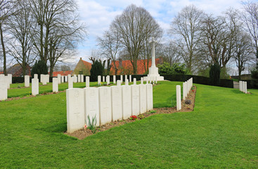 Ramparts World War One Cemetery, Belgium