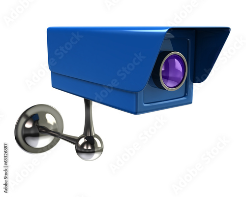 Illustration of surveillance camera