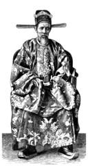 Traditional Asian Mandarin