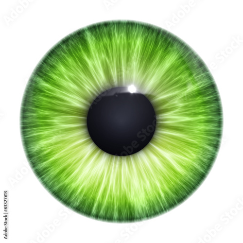 Poster Textures green eye texture
