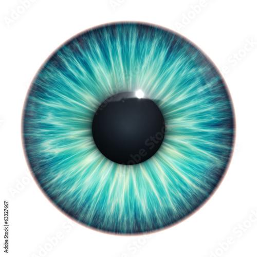 Foto op Plexiglas Textures turquoise eye texture