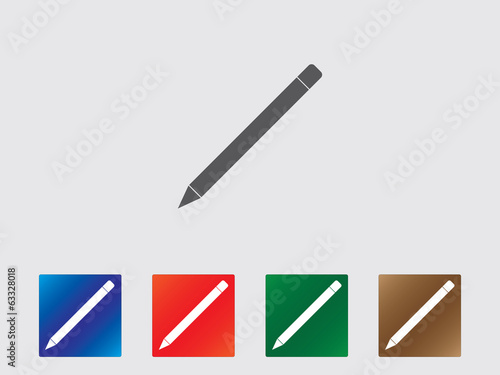 Pencil icon collection