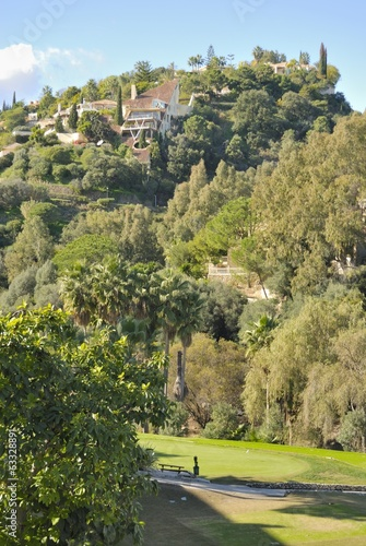 Houses in golf course, Andalusia, Spain