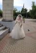 невеста в сквере