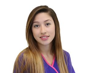 Young Female Hispanic Model