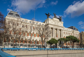 Spain. Madrid. Ministry of agriculture