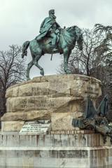 monument to General Martínez-Campos