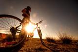 Bicicleta y deporte al aire libre.