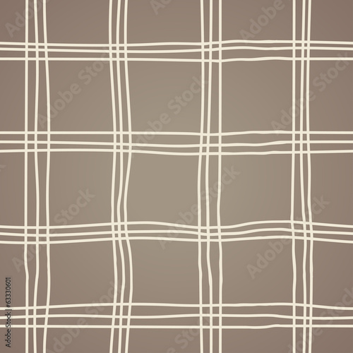 Seamless Abstract Scottish Plaid
