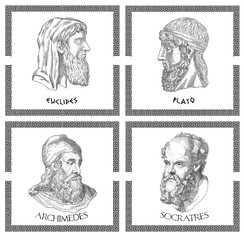 Ancient greek scientists, philosophers