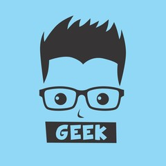 nerd guy cartoon