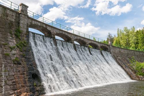 Spoed canvasdoek 2cm dik Dam Dam in Karpacz
