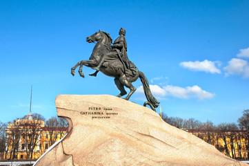 The Bronze Horseman, St.Petersburg, Russia