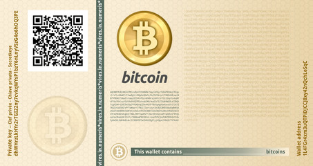 Bitcoin banknote new