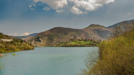 Tuscany lake