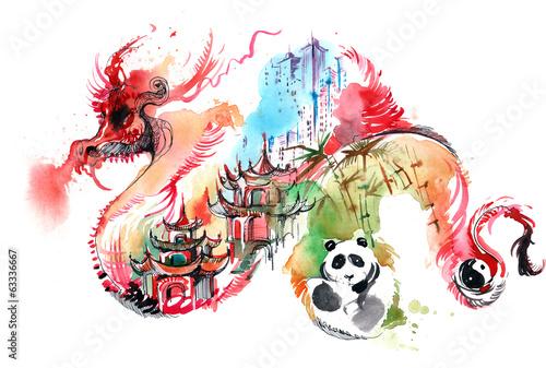Zdjęcia na płótnie, fototapety, obrazy : China