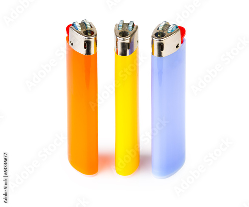 Three cigarette lighters