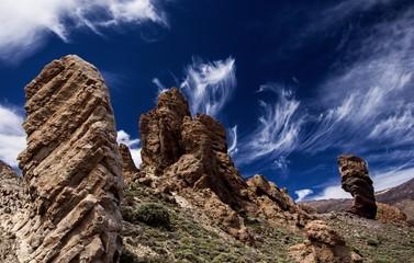 Tenerife-Teide Las Canada-Los Roques