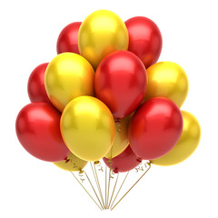 Red Yellow Balloons