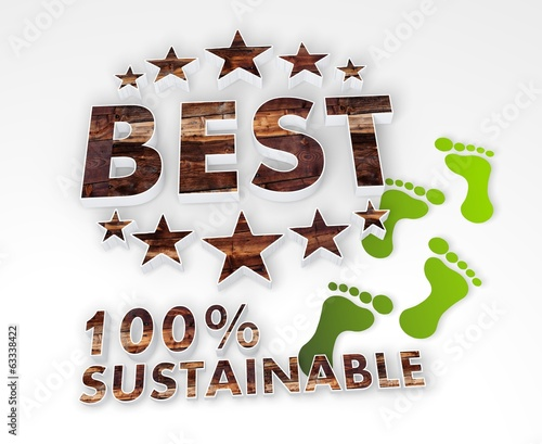 sustainable best 3d icon